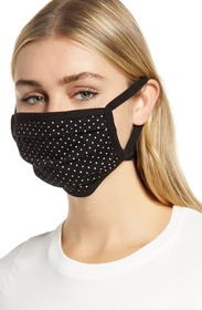 Nordstrom 4-Pack Adult Pleated Knit Face Masks