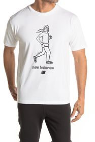 New Balance Athletics N Graph Retro Runner T-Shirt