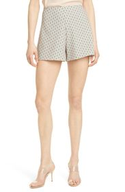 alice + olivia Athena Clean Waist Wide Shorts