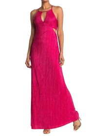 BCBGeneration Sleeveless Cutout Maxi Dress