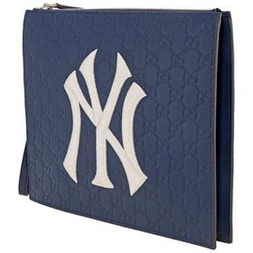 Gucci Gucci Men's Pouch With NY Yankees Logo