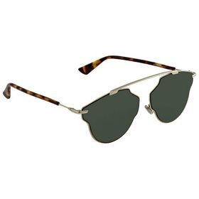 Dior Dior So Real Pop Green Aviator Ladies Sunglas