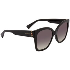 Gucci Gucci Grey Gradient Cat Eye Ladies Sunglasse