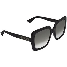 Gucci Gucci Grey Square Ladies Sunglasses GG0418S