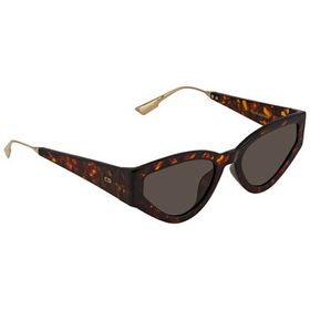 Dior Dior Brown Cat Eye Ladies Sunglasses CATSTYLE