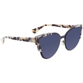 Dior Dior Widly Blue Avio Cat Eye Ladies Sunglasse