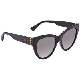Gucci Gucci Grey Cat Eye Ladies Sunglasses GG0460S