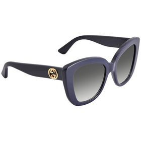 Gucci Gucci Grey Cat Eye Ladies Sunglasses GG0327S