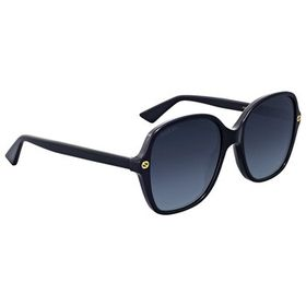 Gucci Gucci Grey Gradient Square Sunglasses