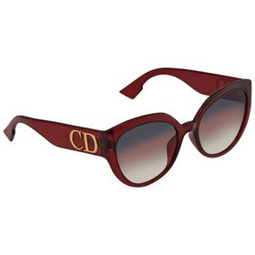 Dior Dior Pink Ar Cat Eye Ladies Sunglasses DDIORF