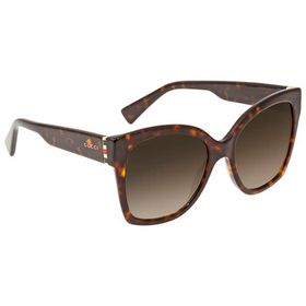 Gucci Gucci Brown Shaded Geometric Ladies Sunglass