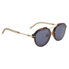 Dior Dior Eclat Blue Grey Oval Ladies Sunglasses D