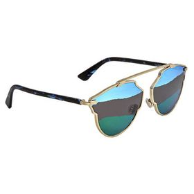 Dior Dior Green Cat Eye Ladies Sunglasses DIORSORE