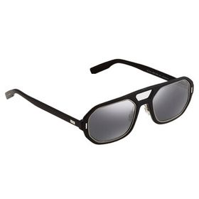 Dior Dior Sup Silver Mirror Aviator Men's Sunglass
