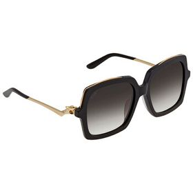 Cartier Cartier Ladies Grey Gradient Sunglasses CT