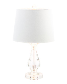 22in Crystal Table Lamp