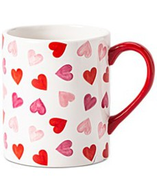 Valentine's Day Floating Heart Mug, Created for Ma