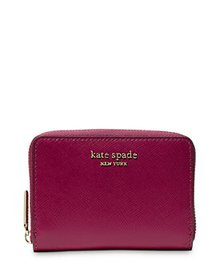 kate spade new york - Spencer Leather Zip Card Cas