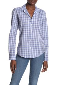 FRANK & EILEEN Plaid Button Front Woven Shirt