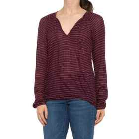 Lucky Brand Drop Needle Stripe Shirt - Long Sleeve