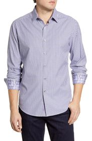 Robert Graham Beyond the Grid Check Button-Up Shir