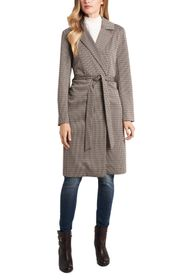 Vince Camuto Heritage Notch Collar Belted Coat