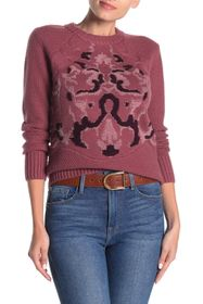 NAADAM Oyuna Boucle Intarsia Wool & Cashmere Sweat