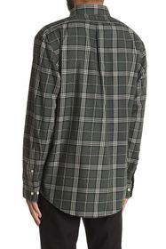 Brooks Brothers Tartan Plaid Print Regular Fit Shi