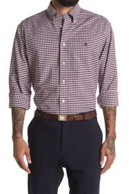 Brooks Brothers Gingham Print Regular Fit Shirt