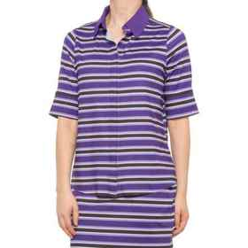 Belyn Key Keystone Polo Shirt - UPF 50, Elbow Slee