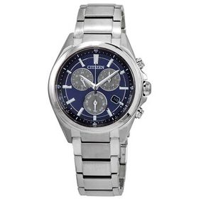 Citizen Citizen Attesa Chronograph Blue Dial Men's