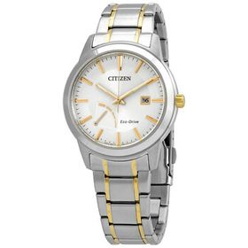 Citizen Citizen Eco-Drive Silver Dial Two-tone Men