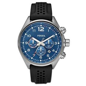 Fossil Fossil Open Box - Fossil Flight Blue Dial C