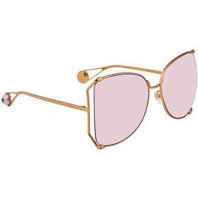 Gucci Gucci Pink Oversized Ladies Sunglasses GG025