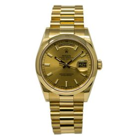 Rolex Rolex Day-Date Champagne Automatic 18kt Yell