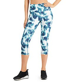 Tie-Dyed High-Waist Cropped Leggings, Created for