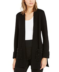 Embellished Open-Front Cardigan, Created for Macy'