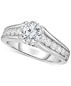Diamond Engagement Ring (1-1/4 ct. t.w.) in 14k Wh