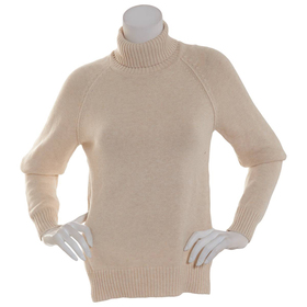 Womens Jeanne Pierre Long Sleeve Perfect Turtlenec