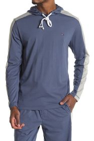Tommy Hilfiger Hooded Long Sleeve Lounge T-Shirt