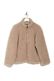 French Connection Fabi Faux Teddy Fur Jacket