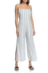 Roxy Feelings Catcher Striped Jumpsuit