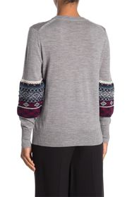 Burberry Melito Cable Knit Wool Sweater