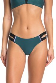 Hurley Phantom Colorblocked Cutout Surf Bikini Bot