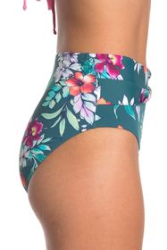 Tommy Bahama Floral Springs High Waisted Bikini Bo