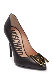 MOSCHINO Leather Pointed Toe M Stiletto