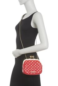 LOVE Moschino Quilted Coin Purse Crossbody Bag