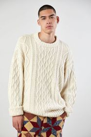 BDG Fisherman Crew Neck Sweater