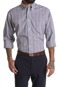Brooks Brothers Check Print Regular Fit Shirt