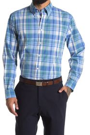 Brooks Brothers Plaid Print Regular Fit Shirt